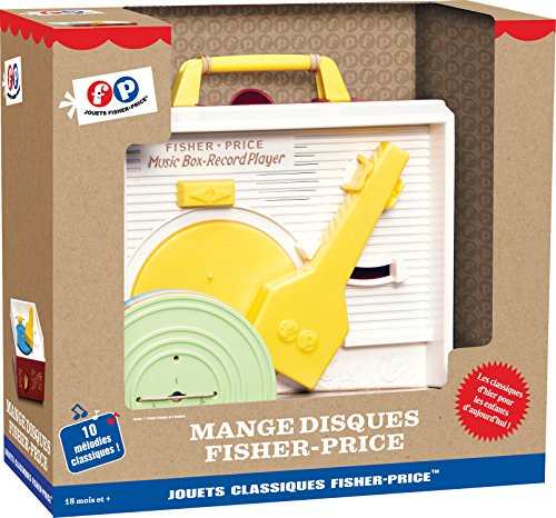Fisher Price - Mankk01 - Jeu Electronique - Mange Disques