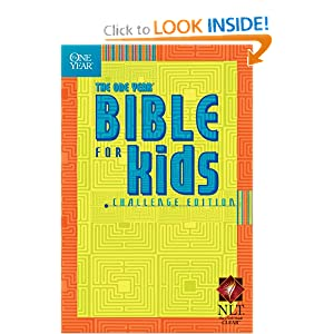 The One Year Bible for Kids, Challenge Edition