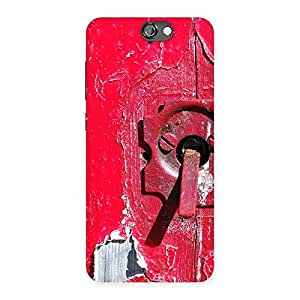 Enticing Red Door Print Back Case Cover for HTC One A9
