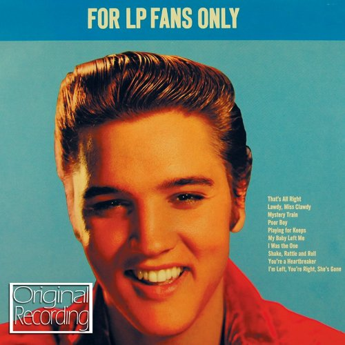 For-LP-Fans-Only-Elvis-Presley-Audio-CD