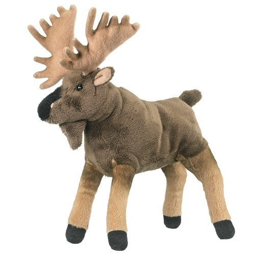 "9"" Plush Moose Toy"