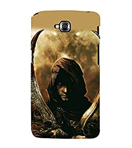 printtech Game Prince Warrior Back Case Cover for LG GPro Lite / LG G Pro Lite Dual D686