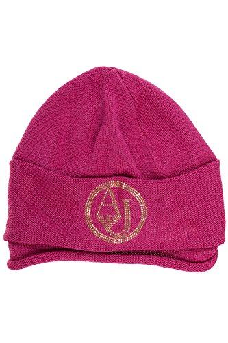 Armani Jeans cuffia berretto donna in lana originale rosa EU M 924031 6A026 06872