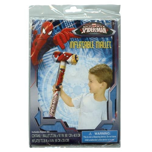 "WeGlow International Spiderman Inflatable 26"" Mallet (2 Mallets)"