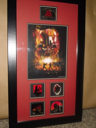 STAR WARS 2005 Darth Vader Pin Collection - with certificate of authenticity - Limited to 2005 Worldwide