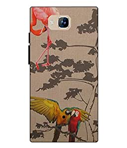 LYF WIND 2 Printed Back Cover By Case Cover