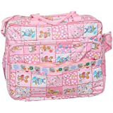 Kuber Industries™ Baby Diaper Nappy Changing Baby Bag Mummy Handbag In Baby Print Imported Material (KI19521) - B072B75Y3G