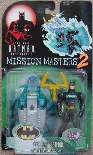 Buy Low Price Kenner Batman (Sea Claw) from Batman – Mission Masters Series 2 Action Figure (B0013OXYG4)