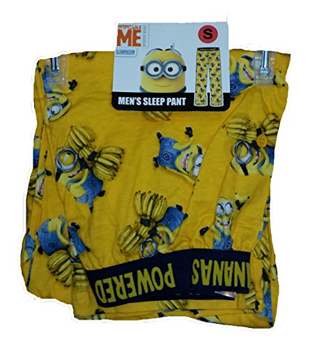 Despicable Me Minion Powered By Bananas Licensed Graphic Sleep Pants