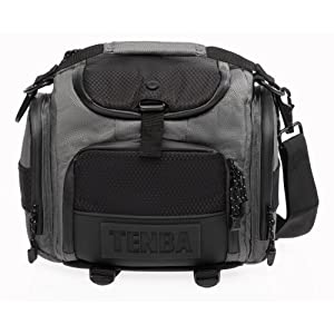 Tenba 632-602 Shootout Small Shoulder Bag (Silver/Black)