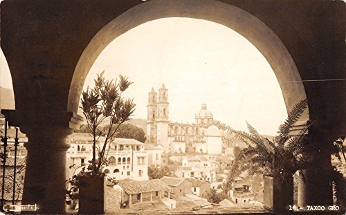 Taxco Mexico View from Balcony Real Photo Antique Postcard J25816