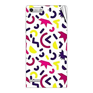 Garmor Designer Mobile Skin Sticker For Huawei Ascend G6 - Mobile Sticker