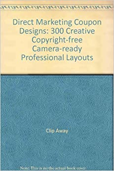 Direct marketing coupon designs designer clip art 300 for Coupon libri amazon