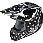 Fly Racing Kinetic Flash Adult Motocross/Off-Road/Dirt Bike Motorcycle Helmet - Silver/Black/White / 2X-Large