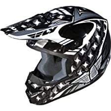 Fly Racing Kinetic Flash Adult Motocross/Off-Road/Dirt Bike Motorcycle Helmet - Silver/Black/White / 2X-Large