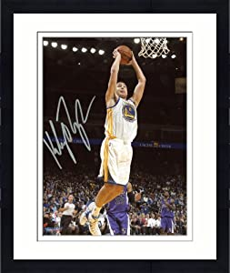 Framed Klay Thompson Golden State Warriors Autographed 8