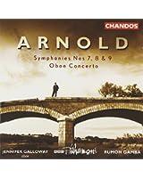 Symphonies N 7, 8 & 9 - Concerto Pour Hautbois