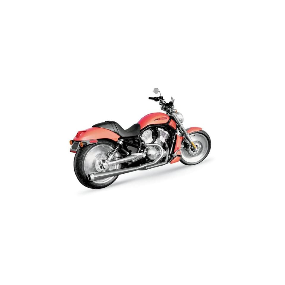 Bassani Chrome Long Road Rage 2 into 1 System VRE637CL