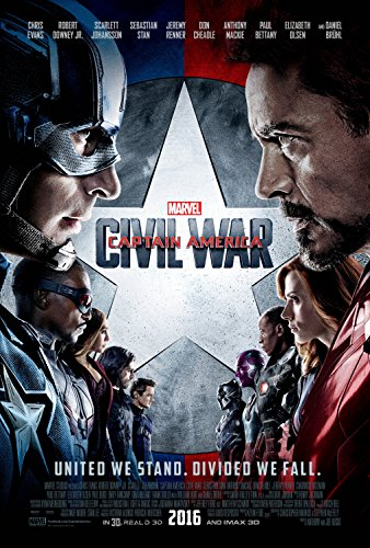 Marvel's Captain America: Civil War (3D BD+BD+Digital HD) [Blu-ray]
