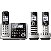 Panasonic Link2Cell Bluetooth Cordless Phone (Silver)