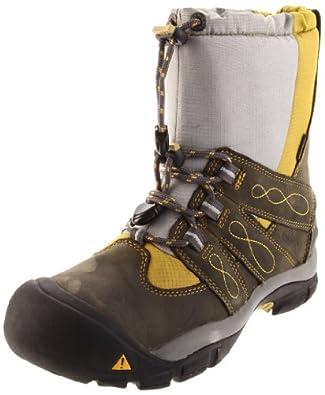 Keen Women's Brixen Waterproof Winter Boot,Dark Shadow/Golden Olive,11 M US