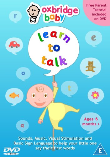 Oxbridge Baby - Learn to Talk [DVD]