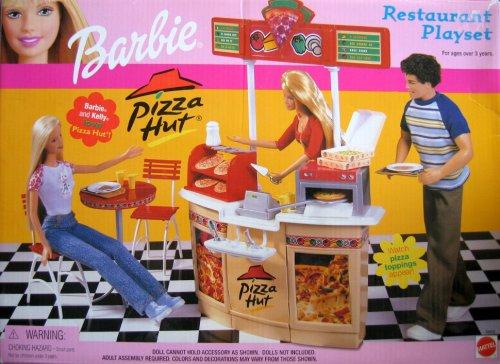 Pizza Hut Toys : Barbie pizza hut restaurant playset