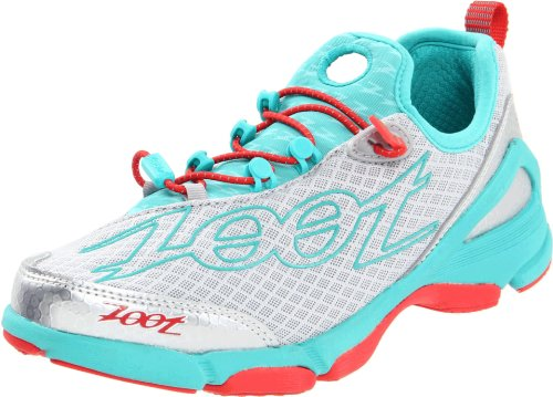 ZOOT Ultra TT 5.0 Triathlon Neutral Ladies Shoes, Grey/Blue/Red, UK6