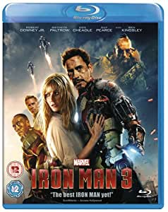 Iron Man 3 [Blu-ray] [Region Free]