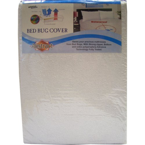 Abstract Waterproof, Terry, Bed Bug Cover 33x75 - 1