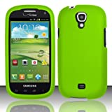 For Samsung Stratosphere 2 i415 (Verizon) Rubberized Cover - Neon Green