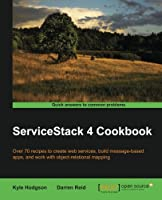 ServiceStack 4 Cookbook Front Cover