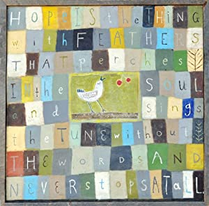 Amazon.com - Sugarboo Designs Art Print AP134 Hope is The Thing ...