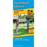 Radwanderkarte Spreewald /Lausitz: Mit Ausflugszielen, Einkehr- & Freizeittipps, wetterfest, reissfest, abwischbar, GPS-genau. 1:100000