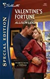 img - for Valentine's Fortune (Silhouette Special Edition) book / textbook / text book