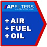 AIR OIL FUEL FILTER SERVICE KIT Ford Ranger 2.5 TD 4x4 Pickup TU_ [1999-2006]
