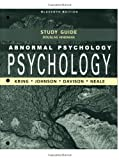 img - for Abnormal Psychology, Study Guide book / textbook / text book