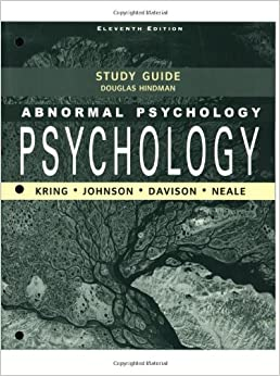 Abnormal Psychology Study Guide Flashcards | Quizlet