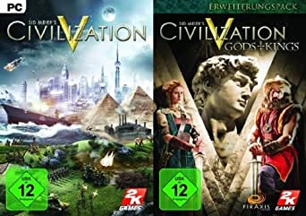 Sid Meier's Civilization V inkl. Gods & Kings [PC Steam Code]