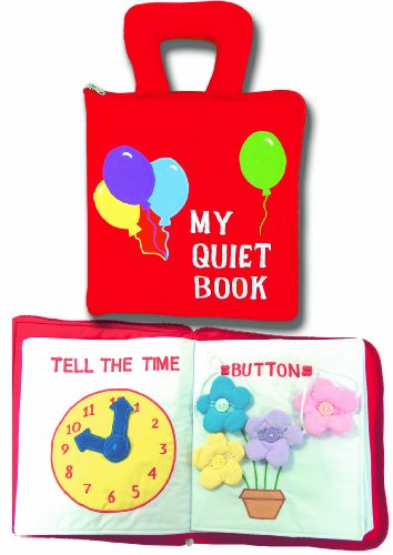 My Quiet Book, Fabric Activity Book for Children