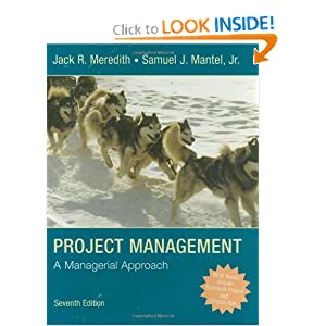 project management a managerial approach 7th edition meredith mantel solutions manual Project management a managerial approach meredith 8th edition test bank this is not the actual book you are buying the test bank in e-version of the following book.