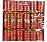 6 Arsenal Football Christmas Party Crackers