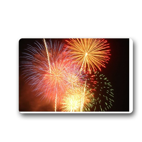 Fireworks show Custom Doormat (23.6 x15.7 inch)
