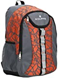 17.8 Inch Orange Multi Purpose Student School Bookbag Children Outdoor Sports Backpack Travel Carryon