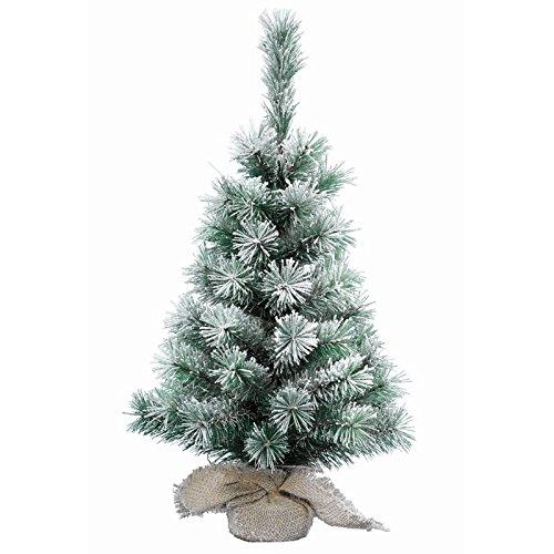 Kaemingk 90cm Künstliche Baum Snowy Vancouver grün/weiß thumbnail