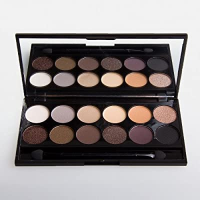 Cheapest Sleek i-Divine AU Natural Palette Mineral based Eye Shadow Palette by HealthLand by Globalbeauty - Free Shipping Available