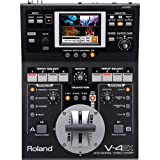 Roland 4-Channel Digital Video Mixer with Effects, HDMI In/Out, USB Streaming, HDCP Support, Built-in Multiviewer with Touch Control