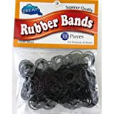 Dream Rubber Bands 300's Black Bag (Pack of 24)