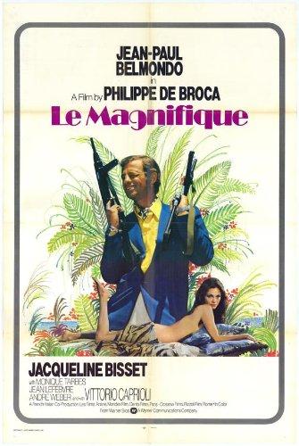 * * * * * *, le poster film Ho 11x 14-28x 36cm, Jean-Paul Belmondo Jacqueline Bisset Vittorio Caprioli Hans Meyer Monique tarbès