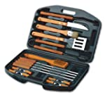 18PC BBQ SET W MOULD CASE
